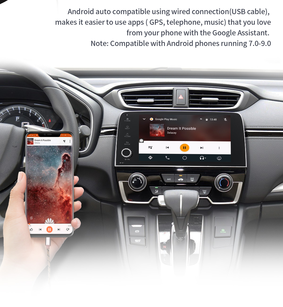 JOYING Android 8 1 0 Plug And Play Car Entertainment System for 2016 2017  Honda CRV 4GB+64GB