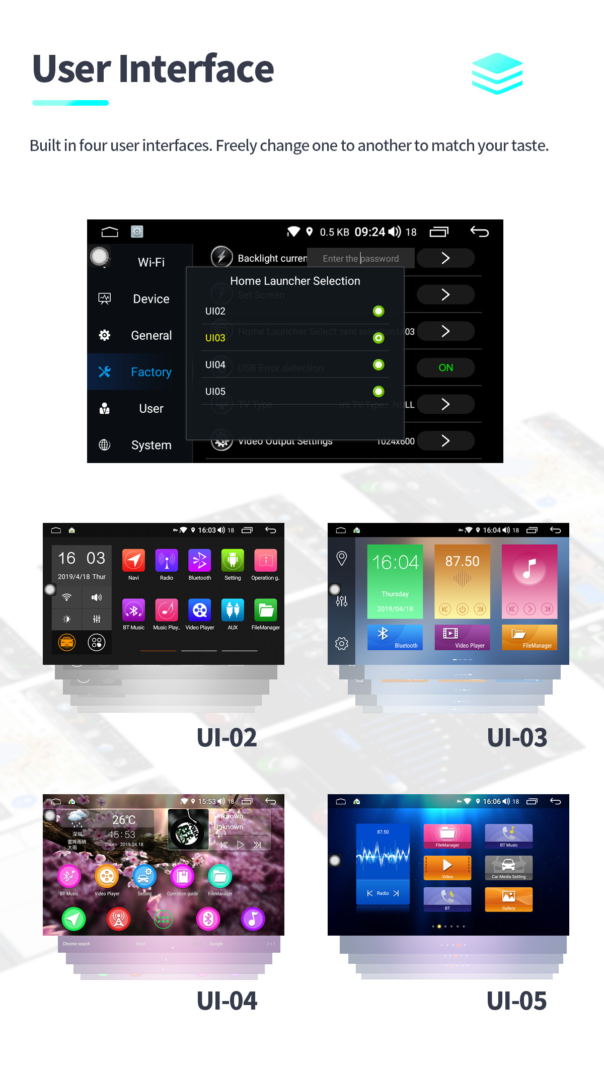 2014+ Nissan Qashqai X-Trail Android Oreo Head Unit 2GB/32GB Touch Screen  Stereo with Navigation
